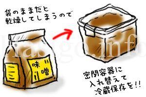 味噌イラスト